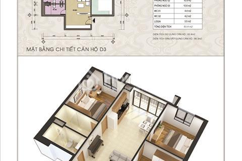 Căn hộ cao cấp, C1 Thành Công, diện tích từ 62m2, giá từ 36 triệu/m2