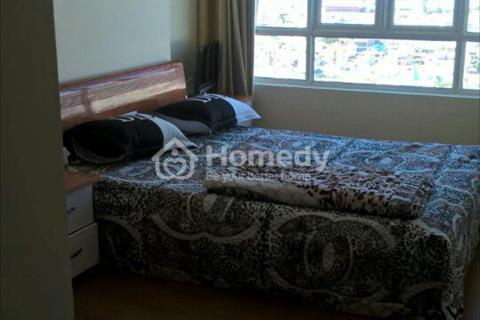 Tôi cần cho thuê gấp căn hộ 2 phòng ngủ, tầng cao, view đẹp, tiện nghi đầy đủ, lót sàn gỗ