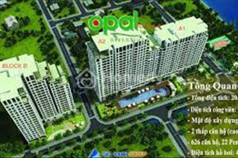 Chính chủ bán căn Penthouse Opal Riverside, 111m2 có sân vườn rộng 89m2, view sông
