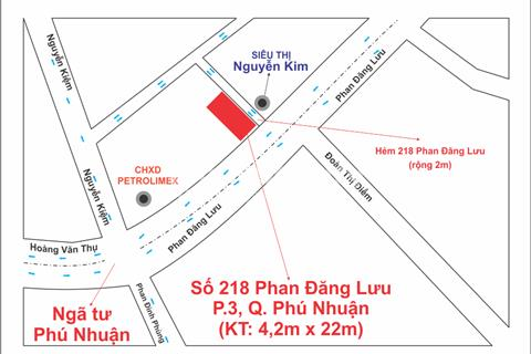 Cho thuê nhà mặt phố nguyên căn ngay ngã tư Phú Nhuận