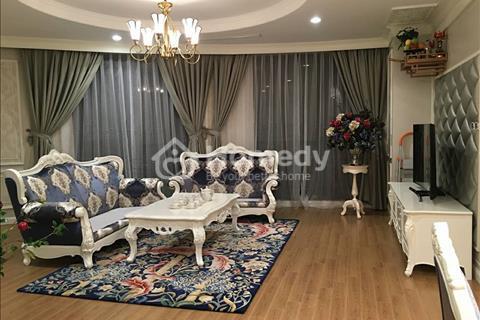 Cho thuê chung cư Golden Palace, tòa B tầng 26, 87m2, 2 phòng ngủ rộng, nội thất đẹp 17 triệu/tháng