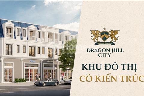 Chỉ 1,9 tỷ có ngay Shophouse xây 3 tầng 70m2 trong khu đô thị mới Dragon Hill City