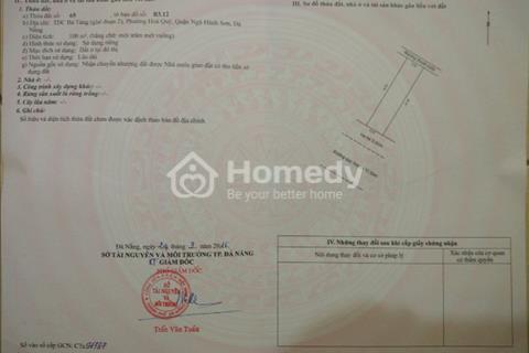 Cần bán đất khu dân cư Bá Tùng, Phường Hoà Quý, Quận Ngũ Hành Sơn