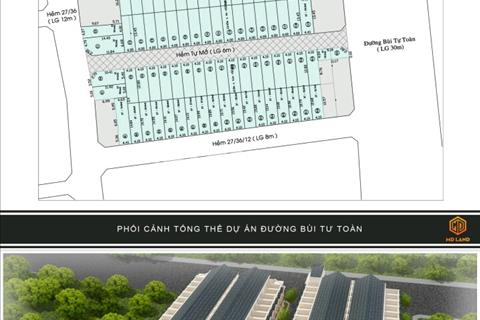 Dự án nhà phố MD Land, Bùi Tư Toàn, phường An Lạc, quận Bình Tân
