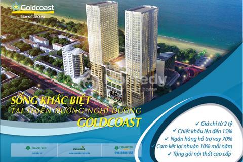 Chỉ còn 40 căn cuối cùng Gold Coast Nha Trang, 1.9 tỷ + Nội nhất 300 tr+ Tour du lịch 10tr - CK 21%