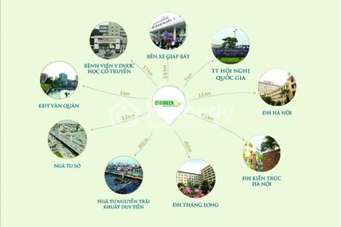 Dự án Eco Green, 286 Nguyễn Xiển, diện tích 75m2, 2 ngủ, đủ đồ, view cực đẹp