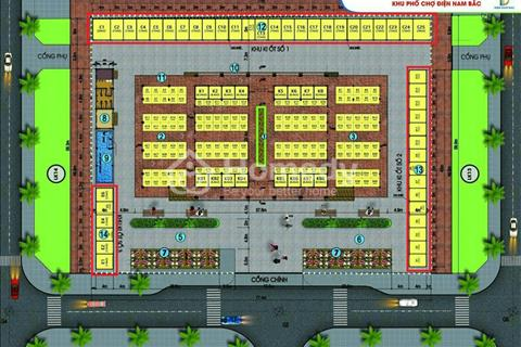 Cần bán nhanh kiot chợ Điện Nam Bắc - dự án khu phố chợ đầy tiềm năng đang phát triển mạnh