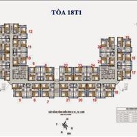 Cần bán gấp chung cư Golden An Khánh, tầng 1508-T1 (68,8m2) và 1518-T2 (69m2), giá 800 triệu