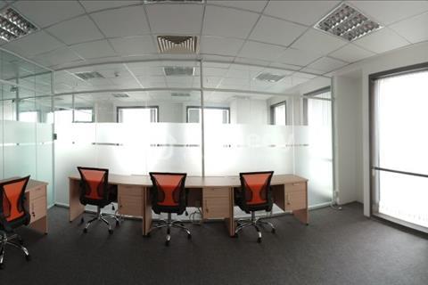 Cho thuê văn phòng trọn gói giá rẻ tại tòa nhà Pearl Plaza giá chỉ từ 3,65 triệu/tháng