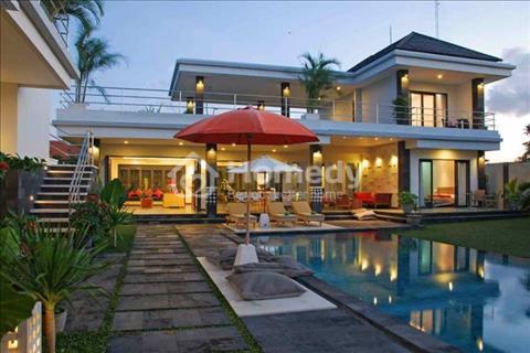 Bán biệt thự Phú Mỹ Hưng Quận 7, có hồ bơi, sân vườn, 7x20m, 8,7 tỷ, giá rẻ nhất khu Phú Mỹ Hưng