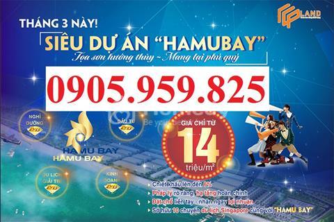 """Nhận đặt chỗ mở bán """"Siêu dự án Hamubay"""" biển Phan Thiết – giá tốt nhất thị trường 14 triệu/m2"""