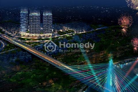 Chung cư Intracom Riverside view cầu Nhật Tân. Giá tốt chỉ từ 800tr/căn. LS 0%, tặng 6 chỉ vàng SJC