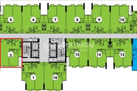 Kẹt tiền bán căn hộ La Astoria II quận 2, diện tích 59m2, 2 phòng ngủ, 2 vệ sinh, bán 1,6 tỷ