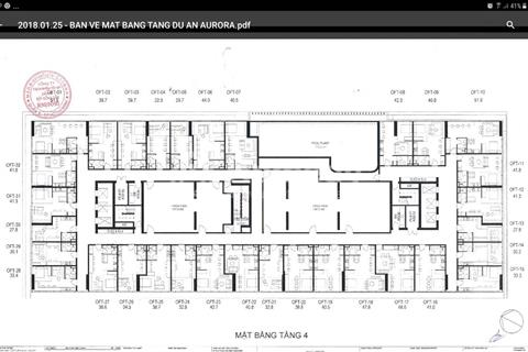 Chỉ còn 32 căn Officetel suất nội bộ dự án Aurora quận 8