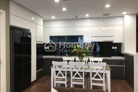 Cho thuê căn hộ chung cư 170 Đê La Thành, 150m2, 3pn, đầy đủ đồ đẹp, căn góc thoáng mát, 16tr/th