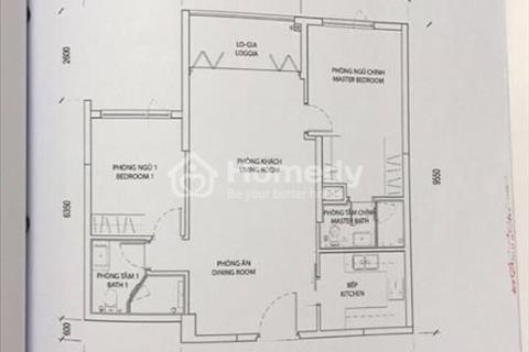 Căn hộ 2 phòng ngủ, 83,46m2, lầu 9, dự án D1 Mension, xem nhà liên hệ ngay