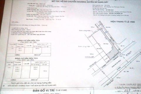Bán kho xưởng mặt tiền đường Cây Keo 350m2 giá chỉ 14,9 tỷ