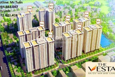 Chủ đầu tư Hải Phát mở bán tòa V2 V3 dự án The Vesta với hỗ trợ vay vốn tới 70% GTCH