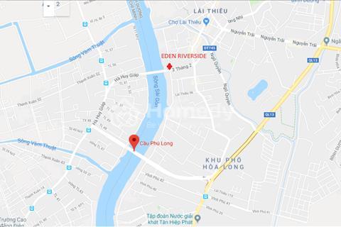 Căn hộ bàn giao cao cấp bên sông Sài Gòn liền kề Hà Huy Giáp quận 12, cầu Phú Long