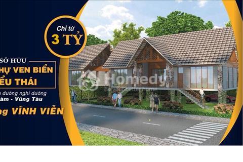 Cơ hội vàng sở hữu Biệt thự nghỉ dưỡng Bình Châu Green Garden Villa ngay cạnh Hồ Tràm đất Vũng Tàu
