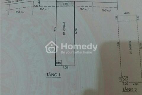 Bán nhà HXH số 118/10 Nguyễn Thị Thập dt 4x14m 1 trệt 1 lầu nhà đẹp ở ngày