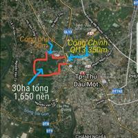 Đất mặt tiền QL13, phường Chánh Mỹ, 70m2 giá chỉ 750 triệu, sổ hồng riêng, đường 12m