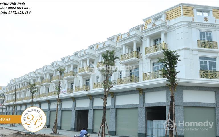 Chính chủ cần cho thuê gấp căn 60m2 Shophouse 24h Vạn Phúc - Lê Văn Lương - Tố Hữu