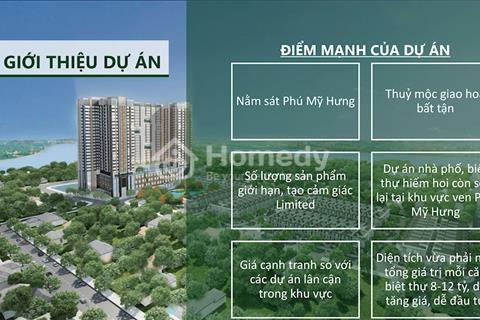 Bán căn hộ cao cấp Nguyễn Lương Bằng Quận 7 giá 1,7 tỷ 2 phòng ngủ 60m2
