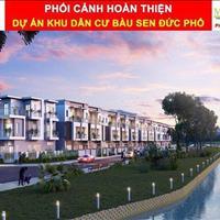 Bán đất nền biệt thự ven sông khu dân cư Bàu Sen - xã Phổ Hòa - huyện Đức Phổ