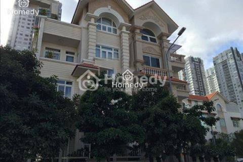 Biệt thự tại khu đô thị Him Lam, phường Tân Hưng, quận 7, 7,5x20m, hầm, trệt, 3 lầu, thang máy