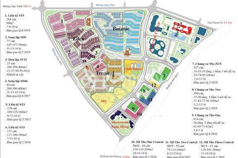 Cho thuê Shophouse Gamuda Tam Trinh, Hoàng Mai làm văn phòng, siêu thị, kinh doanh siêu lợi nhuận