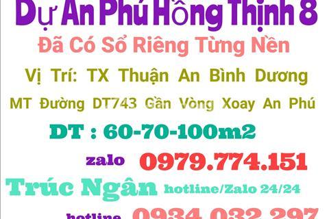 Chính thức mở bán khu dân cư Phú Hồng Thịnh 8, giá F0 từ chủ đầu tư