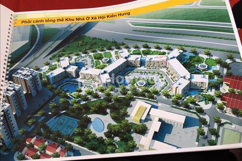 Chỉ khoảng 120 – 210 triệu sở hữu ngay căn hộ 2 phòng ngủ dự án Kiến Hưng, Hà Đông