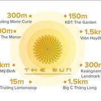The Sun Mễ Trì - cơn sốt căn hộ cao cấp chỉ 2,3 tỷ/căn 3 phòng ngủ