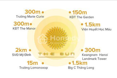 The Sun Mễ Trì - Cơn sốt căn hộ cao cấp chỉ 2,3 tỷ/ 3 phòng ngủ