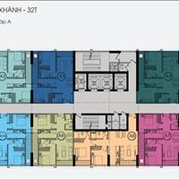 Bán căn hộ The Golden An Khánh, 32 tầng, căn 1209-C9, 66,4m2, căn 2411-A11, 65,9m2, 13 triệu/m2
