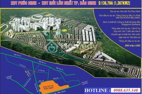 Khu đô thị Phúc Ninh từ 17 triệu/m2 - Đợt mở bán cuối cùng - Tặng xe lên đến 1,95 tỷ đồng