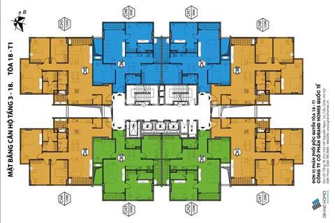Bán 5 căn hộ Green Park CT15 Việt Hưng đẹp nhất, rẻ nhất