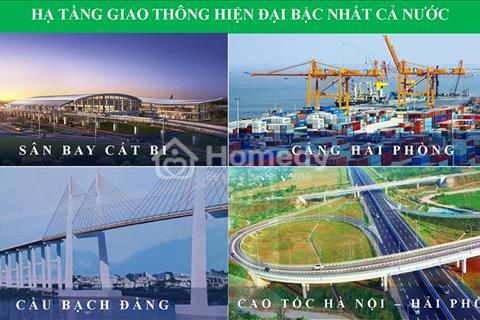 Mở bán khu đô thị Nam Hải - Hải An giá chỉ từ 10 triệu/m2