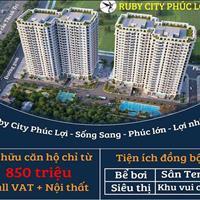 Dự án chung cư Ruby City CT3 - Phúc Lợi - Long Biên