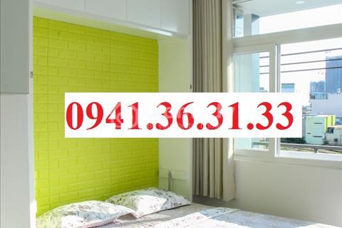 Cho thuê căn hộ Studio Full nội thất thiết kế đẹp, ban công view đẹp mặt tiền đường - 100% new