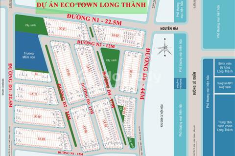Eco Town đất vàng trung tâm Long Thành sở hữu đất vàng khu thương mại 90.000m2 chỉ 35% giá trị đất
