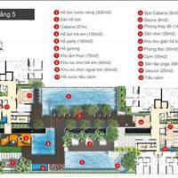 Căn hộ 2 phòng ngủ - view đẹp - khu căn hộ cao cấp mặt tiền Nguyễn Văn Linh