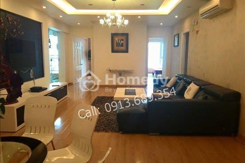Cho thuê căn hộ chung cư N05 Trung Hòa, Nhân Chính, căn góc 159m2, 14 triệu/tháng