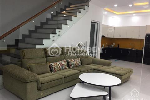 Cho thuê biệt thự, full nội thất, 6x18m, 3 phòng ngủ, 4 vệ sinh, gara ô tô, 20 triệu/tháng