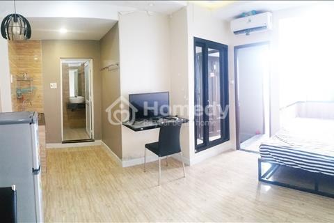 Cho thuê căn hộ mini 1 phòng ngủ, bàn ghế, bếp hiện đại ngay Nguyễn Thị Minh Khai, quận 3