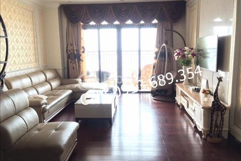 Cho thuê căn hộ cao cấp Royal City, 133m2 view bể bơi, đồ da cao cấp, đồng bộ