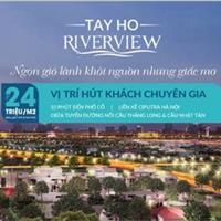 Mở bán chung cư cao cấp Tây Hồ River View, view đẹp giá hợp lý
