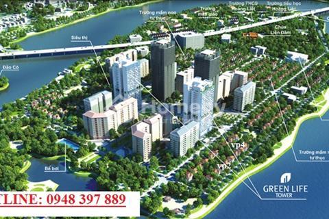 Bán chung cư No 5 Bán Đảo Linh Đàm, diện tích 81m2, giá 18 triệu/m2