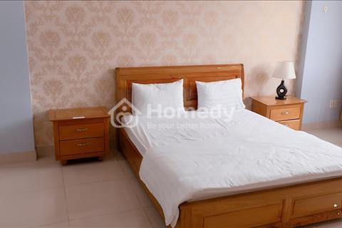 Cho thuê căn hộ dịch vụ ngay mặt tiền Cao Triều Phát trong khu Phú Mỹ Hưng, 50m2, full nội thất